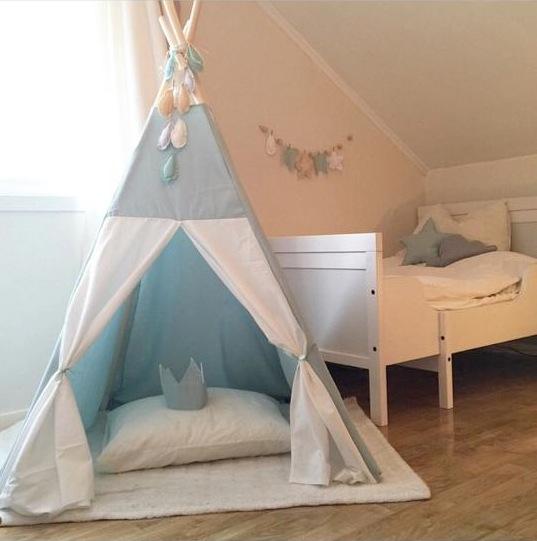 Telt barnerom - Leiligheten dekor