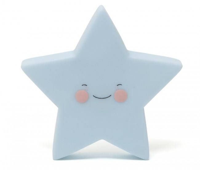 Nattlampe stjerne blå, Eef Lillemor