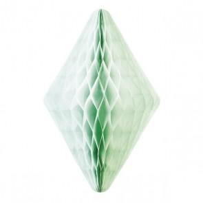 Honeycomb Diamant Medium - Grønn