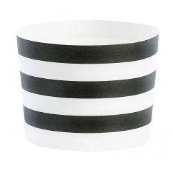 Baking form - Sorte striper 24stk