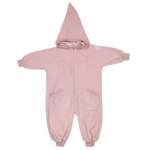 Memini Bunny Overall - Dusty Rose