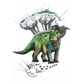 Plakat - Dinosaurens Pike