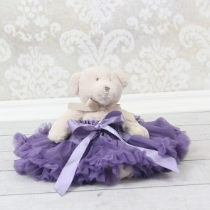 Dukke og Bamseskjørt - Lilla