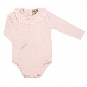 Memini Molly Body - Pale Pink krage