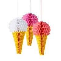 Honeycomb - Iskremer 3 stk.