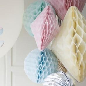 Honeycomb Medium - Blå