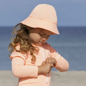 Solhatt med UV Beskyttelse - Peach