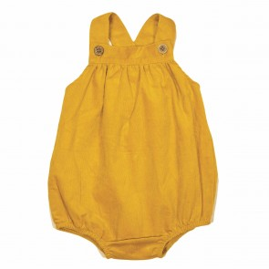 Memini Wally Romper - Honey Gold