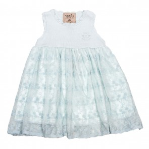 Memini Emilia Dress - Pale Blue