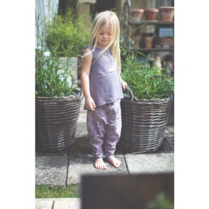 Hedda Bukse - Print Purple Rose