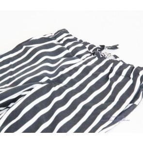 Shorts - Blå og Hvitstripet