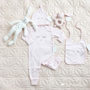 Livly Sleeping Cutie Overall - Rosa