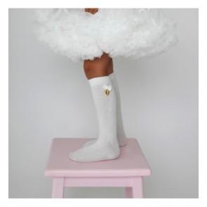 Knestrømper - Cream