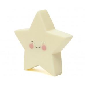 Led Lampe - Gul Stjerne