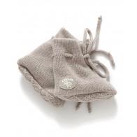 Lillelam Babytøfler - Beige