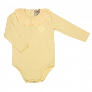 Memini Molly Body - Pale Yellow krage