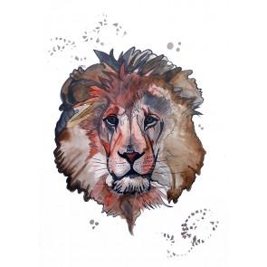 Plakat - Løven Leonard