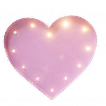 Ledlys Heart - Rosa