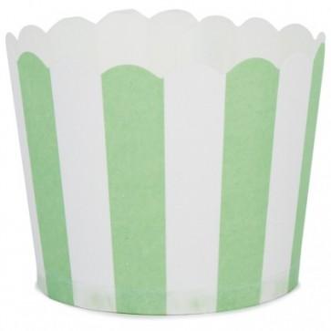 Baking form - Grønne striper 24stk