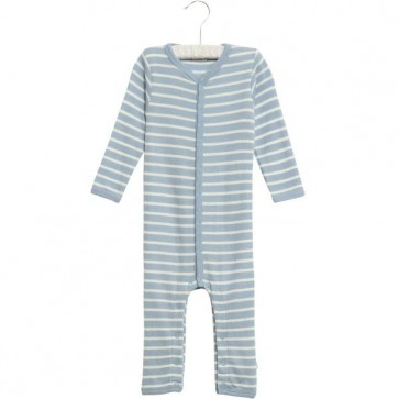Wheat Ull Jumpsuit - Stripet Blå