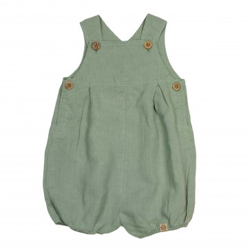 Memini Nicolas Romper - Hedge Green