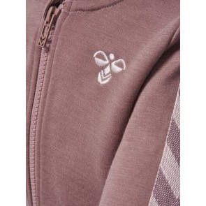Hummel Ull - Istind Zip Jacket Grape
