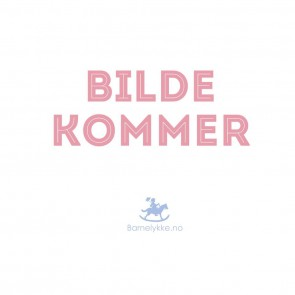 Condor Knestrømper - Off White med blondekant