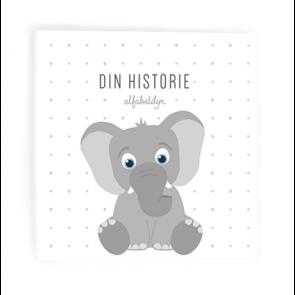 Alfabetdyr - Din Historie Hvit