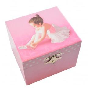 Smykkeskrin Musikk - Ballerina Rosa