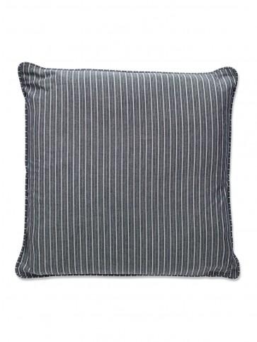 Putetrekk - Blå Grå Stripet