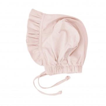 Memini Tia Baby Bonnet - Shell Pink
