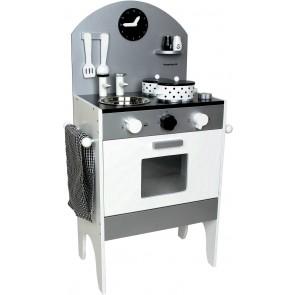 Komplett Kjøkken - Grå & Hvit