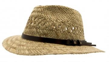 Cth Mini Natural Straw - Hatt