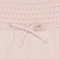 Memini Kari Knit Romper - Shell Pink