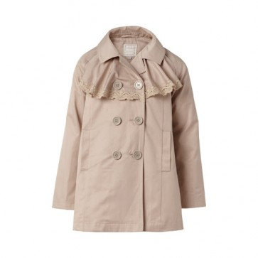 Trench Coat - Mørk Beige