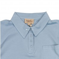Memini Adam Polo Shirt - Cloud Blue