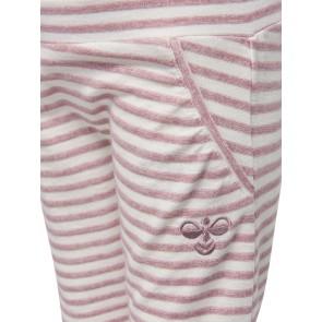 Hummel Lillly Bukse - Rosa & Hvite Striper
