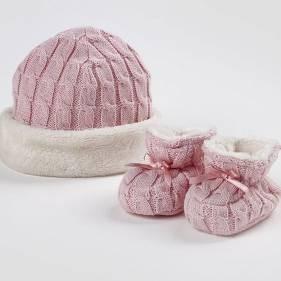Nyfødtsett - Rosa