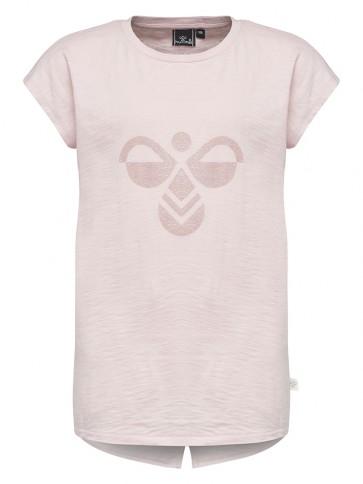 Hummel Sylvia T-skjorte - Dus Rosa