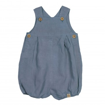 Memini Nicolas Romper - Dusty Blue