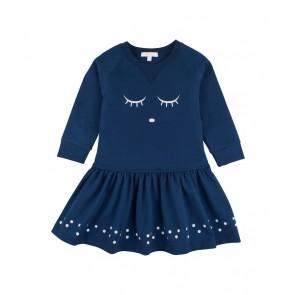 Lively Sweatshirt Kjole - Midnatts Blå