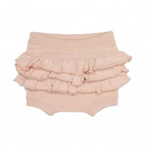 Memini Hilde Knit Bloomer - Dusty Peach