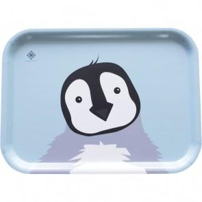 Matbrett Pingvin - Blå