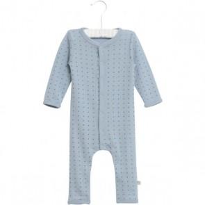 Wheat Ull Jumpsuit - Blå med små Stjerner