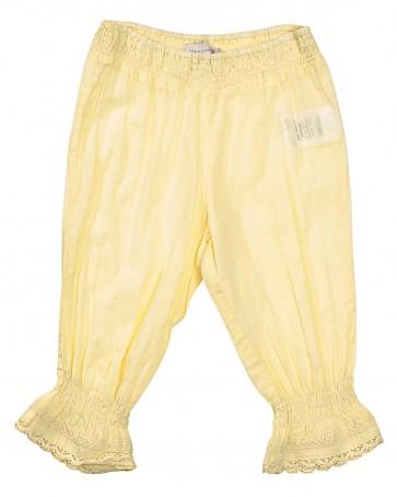 Bukse / Mamelukk - Pastell Gul