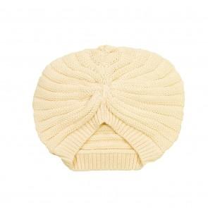 Memini Turban Hat - Pale Yellow