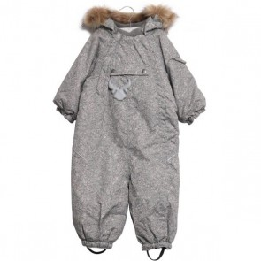 Wheat Snowsuit Nickie - Vinterdress Grey