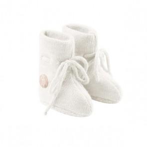 Lillelam Babytøfler - Hvit