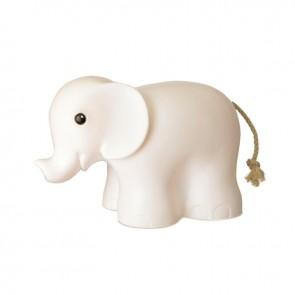 Elefantlampe - Hvit