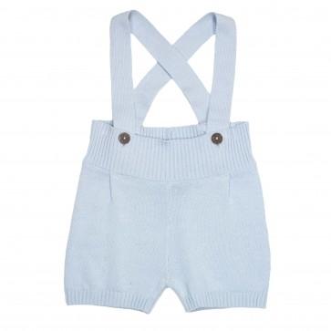 Memini Shorts - Max Suspender Lys Blå